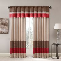 Madison Park Tradewinds Polyoni Pintuck Window Treatments