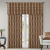 Madison Park Serendipity Embroidery Taffeta Window Treatments