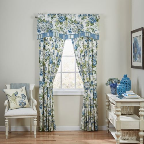 Waverly Floral Engagement Window Treatments