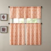 Madison Park Ella Printed Diamond Window Treatments