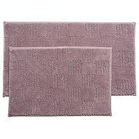 Simply Vera Vera Wang Tile Texture Bath Rug