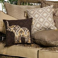 Bombay® Outdoors Palmetto Floral Reversible Cushions & Throw Pillows