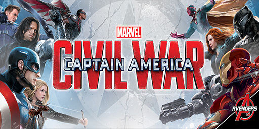 Captain America: Civil War clothes, toys and accessories for Boys and Girls