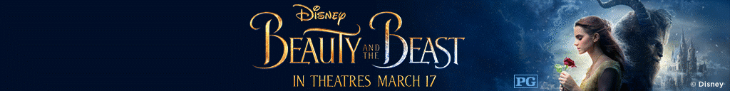 disney beauty and the beast. in theatres march 17.