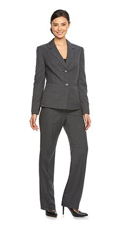 womens dressy black suits