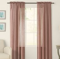 Curtains And D Window