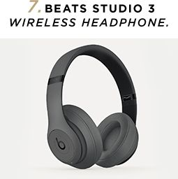 7. Beatss studio3 Wireless Headphones