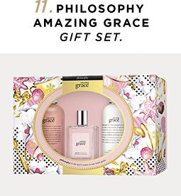 11. Philosophy Amazing Grace Gift Set
