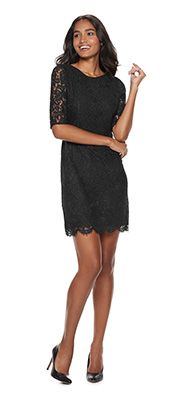 White Lace Tank Dress From Kohl's