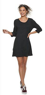 Black Tank Maxi Dress Kohl's Weith