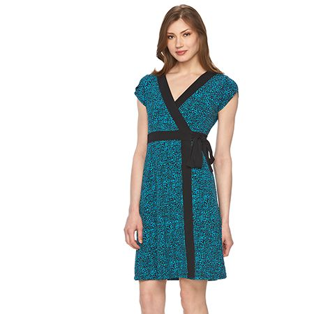 Wrap & Faux-Wrap Dress
