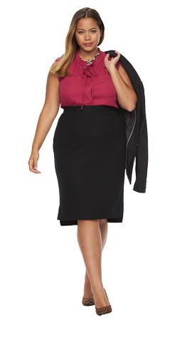 Plus Size Career Clothing