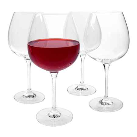 Burgundy Red Wine Glass