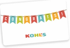 gift card for congratulations