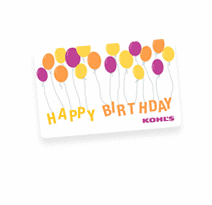 Gift Card For Birthdays