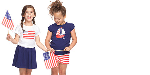 girls 4th of july and patriotic clothes