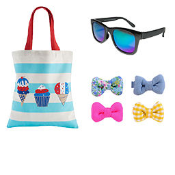 girls hair and beauty accessories