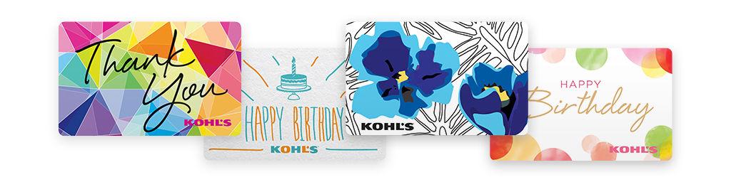 Gift Cards: Kohl\'s Gift Cards & Gift Card Holders   Kohl\'s
