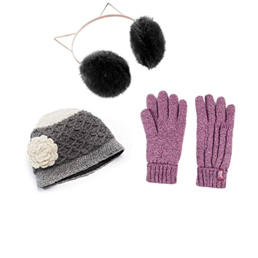cold weather hats and mittens