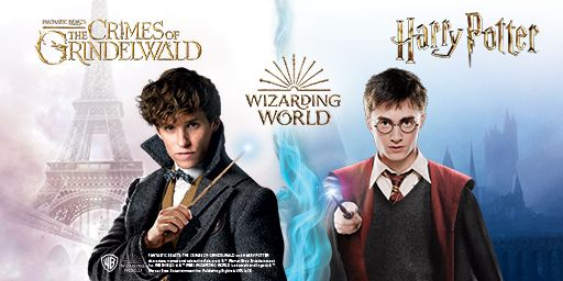 Fantastic Beasts The crimes of Grindelwald and Harry Potter the wizarding world