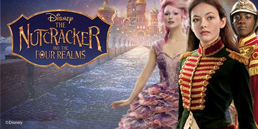 Disney the Nutcracker and the four realms