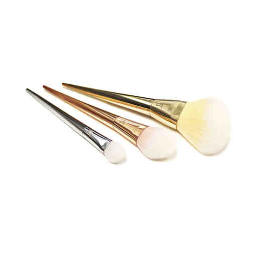 womens makeup brushes and tweezers