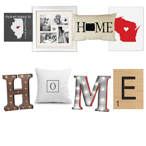 home sweet home decor trend