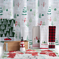 bath bedding christmas rugs - Kohls Christmas Decorations