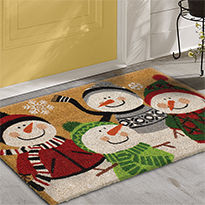 christmas rugs - Kohls Christmas Decorations