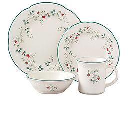 Christmas Dinnerware & Linens