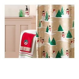 Christmas Bath Accessories