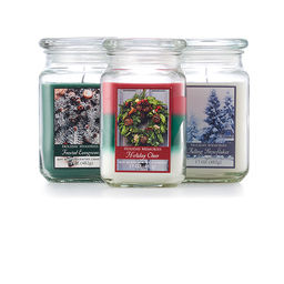 Christmas Candles & Christmas Candle Holders