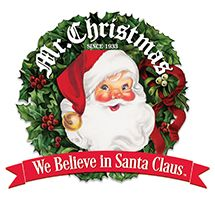 mr. christmas. we believe in santa claus.