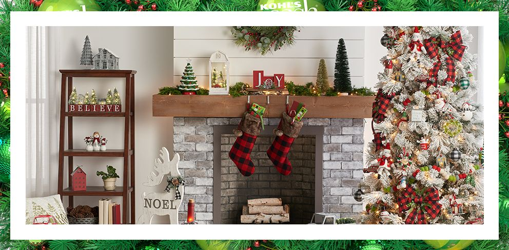 Is Kohls Open On Christmas Eve.Christmas Decorations Holiday Decorations Decor Kohl S