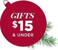 gifts $15 and under