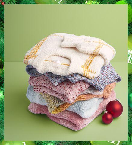 sweater pile