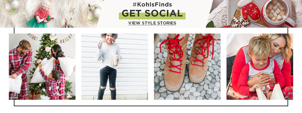 #KOHLSFINDS Get Social View Style Stories.