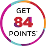 Get 84 points!