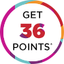 Get 36 points!