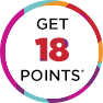 Get 18 points!