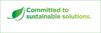 Committed to sustainable solutions.