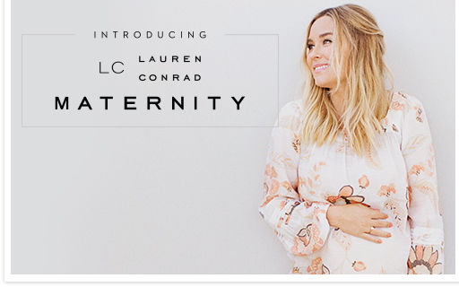 Introducing LC Lauren Conrad Maternity