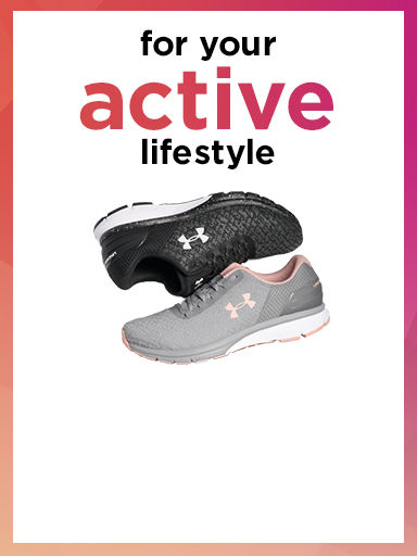 for your active lifestyle
