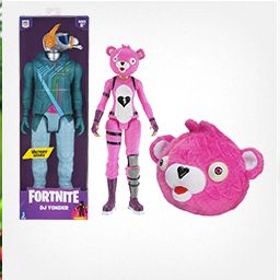 pink action figure