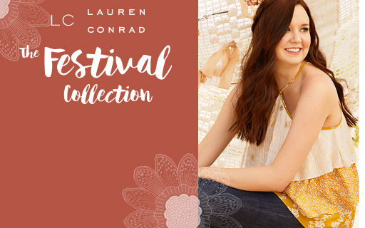 LC Lauren Conrad the Festival Collection