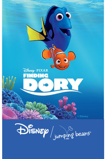 Disney Pixar Finding Dory. Jumping Beans.