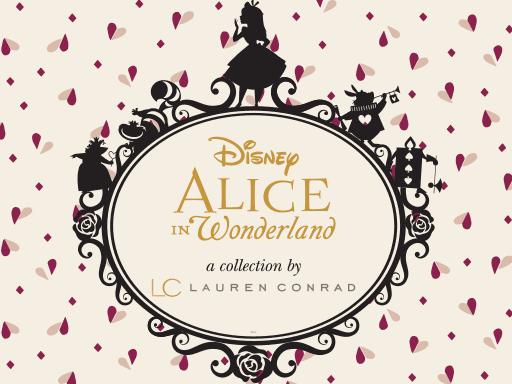 Disney Alice in Wonderland a collection by LC Lauren Conrad