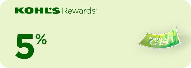 Kohl's Rewards.