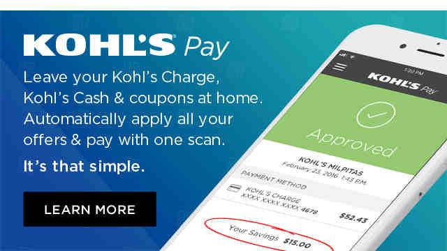 Kohl's Pay.
