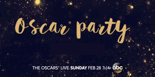The Oscars live Sunday February 28, 7 eastern, 4 pacific on ABC.
